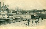 Aqueduc du Metropolitan et Canal St-Martin a la Villette