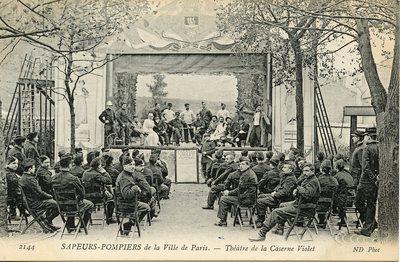 Sapeurs-Pompiers - de la Ville de Paris - Theatre de la Caserne Violet