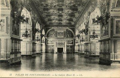 Palais de Fontainebleau - La Galerie Henri II