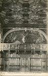 Palais de Fontainebleau - Galerie Henri II, la Tribune