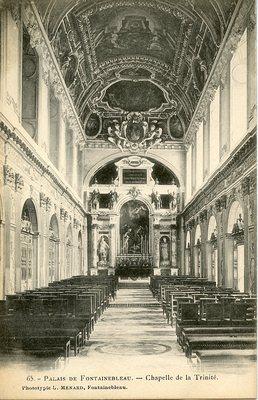 Palais de Fontainebleau - Chapelle de la Trinite