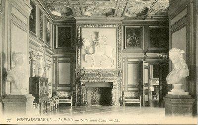 Palais de Fontainebleau - Salle Saint-Louis
