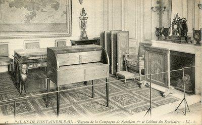 Palais de Fontainebleau - Bureau de la Campagne de Napoleon 1