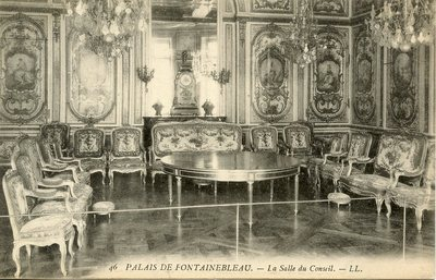 Palais de Fontainebleau - La Salle du Conseil