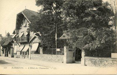 Barbizon - L'Hôtel des Charmettes