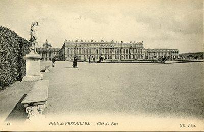 Versailles - Côté du Parc