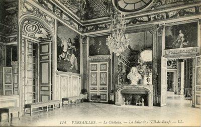 Versailles - Le Château - La Salle de l'Oeil-de-Boeuf