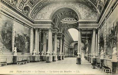 Versailles - Le Château - La Galerie des Batailles