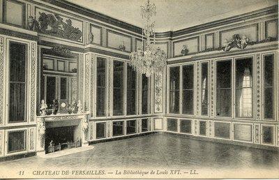 Versailles - Le Château - La Bibliothèque de Louis XVI