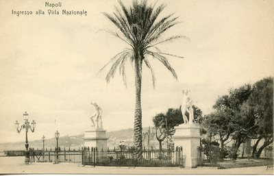 Ingresso alla Villa Nazionale