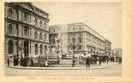 Piazza della Borsa e Fontana del Tritone