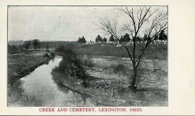 Creek and Cemetery