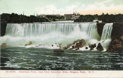 American Falls, view from Canadian Side