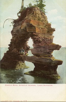 Castle Rock, Apostle Islands