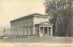 Palais de Compiegne - Chapelle et Allee du Parc
