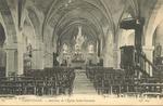 Interieur de l'Eglise Saint-Germain