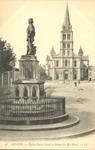 Église Saint-Laud et Statue du Roi René