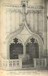 Eglise Notre-Dame de Nantilly, les Fonts Baptismaux