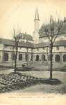 Abbaye de Fontevrault. - Cour des Cloitres