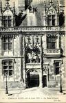 Chateau de Blois - Aile de Louis XII - La Porte d'Entrée