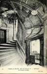 Chateau de Blois - Intérieur du Grand Escalier