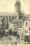 Place Eau-de-Robec et l'Église Saint-Ouen