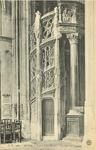 Église Saint-Maclou - Escalier des Orgues