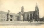 Le Place et l'Église Saint-Ouen