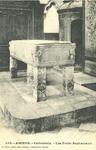 Cathédrale - Les Fonts Baptismaux