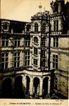 Chateau de Chambord - Escalier