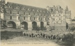 Cháteau de Chenonceaux - La Façade orientale