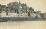 Cháteau d'Amboise vu de l'Ile