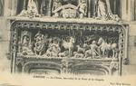 La Chasse, bas-relief de la Porte de la Chapelle
