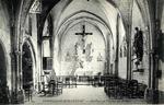 Interieur de l'Eglise du Prieuré