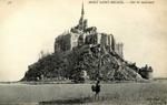 Mont Saint-Michel - Côté du nord-ouest