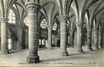 Abbaye du Mont Saint-Michel - La Salle des Chevaliers