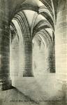 Abbaye du Mont Saint-Michel - La Crypte des Gros Piliers