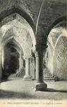Abbaye du Mont Saint-Michel - La Crypte de l'Aquilon