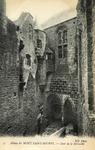 Abbaye du Mont Saint-Michel - Cour de la Merveille
