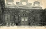 L'Abbaye, la Porte sculptée