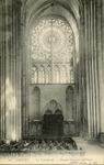 La Cathédrale - Portail Nord à l'intérieur