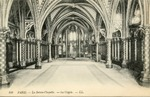 La Sainte-Chapellé - La Crypte