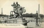 La Place de la Concorde vers les Champs-Elysees