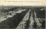 Panorama de la Seine - Vue vers les Champs Elysees