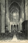 Eglise St Gervais - La Nef