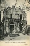 Les Ruines de la Chapelle Saint-Jacques