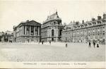 Versailles - Le Château - Cour d'Honneur - La Chapelle