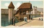 Kapellbrücke und Jesuitenkirche