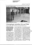 Grenzgänger zwischen Ost und West; Halle im Papierkleid; Letzte Kunstausstellung in der Halle 10 der Reinhardtkaserne; Yin und Yang