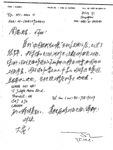 Correspondence: DING Yi to ZHOU Yi (Yan) about updated address of WANG Zhi Wei